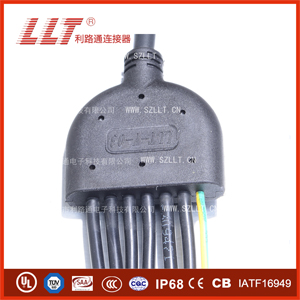 Y型标准防水连接器接头